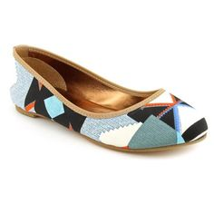 Cynthia Vincent Sage Flats Shoes Blue Womens « Shoe Adds for your Closet