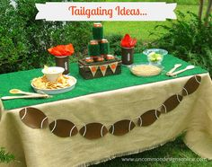 Tailgate table, except no gross tiger paws