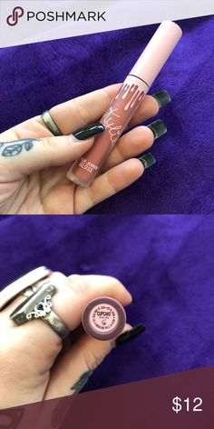Kylie Jenner Cupcake Gloss This gloss was part of the Kylie Cosmetics Limited Edition Birthday Collection. Never used. Kylie Cosmetics Makeup Lip Balm & Gloss