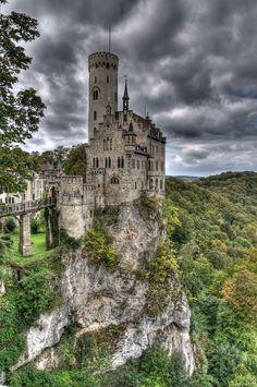 "Schloss Lichtenstein - Lichtenstein • ""Lichtenstein Castle"" by Sergej Eustignos on http://500px.com/photo/6833185"