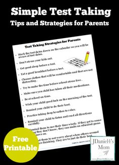 Once your kids are taking a standardize test, there isn't much you can do. Here are some testing taking tips and strategies you can do before the test. Preschool Learning Activities, Learning Tools, Early Learning, Homeschool Curriculum Reviews, Homeschooling, Test Taking Strategies, Instructional Coaching, Kids And Parenting, Parenting Tips
