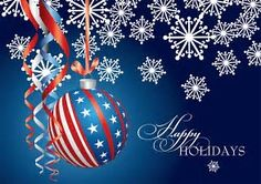 Image result for Red White and Blue Christmas Clip Art
