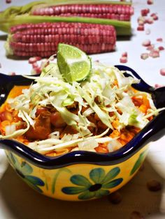 La Cocina de Leslie: Pozolillo Mio {Red Chicken and Fresh Corn Pozole}