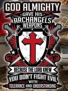 Knights Templar 🔯🙌👑🏆 That'll be all. Faith Quotes, Bible Quotes, Bible Verses, Warrior Quotes, Prayer Warrior, Christian Warrior, Spiritual Warfare, Knights Templar, Jesus Cristo