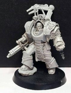 Warsmith Berossus Warhammer 40k Figures, Warhammer Models, Warhammer 40k Miniatures, Warhammer 40000, The Horus Heresy, Grey Knights, Deathwatch, Space Marine, Miniture Things