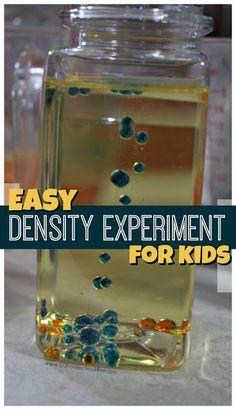 9 Water Density Tank Experiment Ideas Density Experiment Experiments Science Experiments