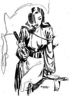 Talia Al Ghul by Ryan Sook Free Comics, Dc Comics, Comic Art, Comic Books, Talia Al Ghul, Gorgeous Redhead, Female Character Design, Drawing Artist, Comics Girls