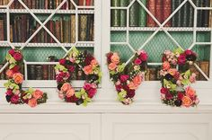Tutorial | Letras decorativas com flores artificiais