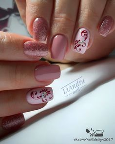 In The Summer of The Fashion Pink Short Nail Art Design Came - Lily Fashion Style Nail Designs Bling, Gel Nail Art Designs, Colorful Nail Designs, Red Wedding Nails, Wedding Nails Design, May Nails, Nails Today, Pastel Nails, Pink Nails