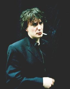 Oh my god. This is what I spent the whole of only Lovers Left Alive trying to figure out who Adam (Tom hiddleston) reminded me of. Oh dear. Now I'm crushing on Dylan Moran. Tamsin Greig, Dylan Moran, Black Books, Man Humor, Famous Faces, Comedians, Ikon, Actors & Actresses, Beautiful Men