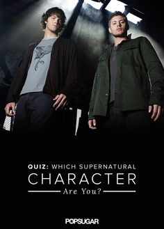 We've learned there are four main characters in Supernatural that we can count on: Sam, Dean, Castiel, and Crowley. Which one is most like you?