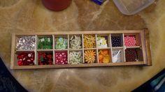 Schublade aufteilen aus Holz