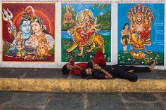 Resting, Vijayawada