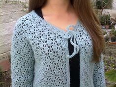 Ravelry: Project Gallery for Lacy Top Cardigan pattern by Doris Chan