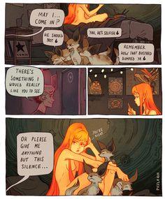 Silent treatment by Picolo-kun on DeviantArt