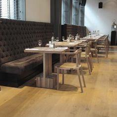 Sems restaurant, terras - inrichting, |pilat.nl