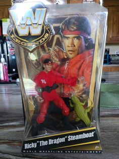 WWE Legend Ricky the dragon Steamboat on Mercari Wwf Superstars, Wwe Toys, Wwe Action Figures, Steamboats, Legends, Muscle, Dragon, Wrestling, Entertaining