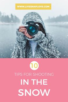 Winter is upon us, and in my part of the world, that means snow - and a  whole new set of challenges when taking photographs! There are a couple of  things to be aware of when shooting in the snow, so I've compiled some tips  that should hopefully help you if you dare to come out of your warm toa