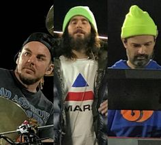 Mars in Europe Monolith Tour Thirty Seconds, 30 Seconds, 30 Sec To Mars, Mars Family, Shannon Leto, Jared Leto, Cool Bands, Eye Candy, Hero