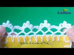 Barrado de Crochê Simples #19 - YouTube