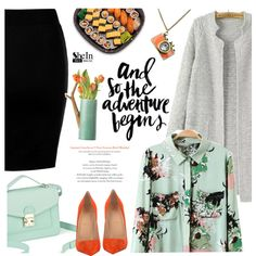 Adventure by mada-malureanu on Polyvore featuring moda, Christian Louboutin, Arteriors, vintage, Sheinside and shein