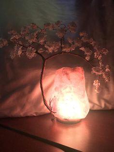 Items similar to Himalayan Salt Lamp Wire Tree Sculpture – Medium on Etsy Tin Can Lanterns, Bonsai, Salt Rock Lamp, Driftwood Lamp, Creative Lamps, Wire Tree Sculpture, Himalayan Salt Lamp, Bedroom Lamps, Lamp Design