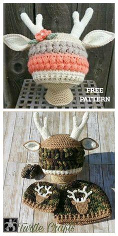 Crochet Baby Clothes, Crochet Baby Hats, Crochet Gifts, Free Crochet, Crocheted Hats, Booties Crochet, Bonnet Crochet, Crochet Beanie Pattern, Kids Crochet Hats Free Pattern