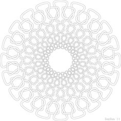 For this exercize, we were to create a mandala. We were allowed to use figurative elements, but aside from vaguely flower-esque shapes, I decided not to (earlier designs included kanji and items, b...