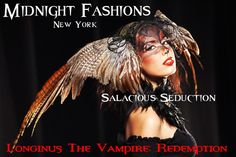 Midnight Fashions, New York - salacious seduction...  www.longinusthevampire.com  #vampires #demons #horror #ebook