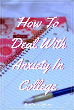 School is amazing but also super stressful. Especially if youhave a hard time dealing with anxiety. Here are some tips for dealing with anxiety in college.