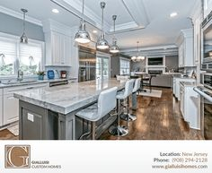 Love this custom made #Gialluisi #kitchen in #NewJersey!