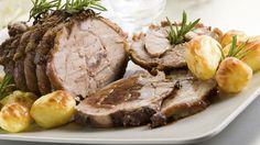 Rosastegt kalveculotte med kartofler og ovnbagt spidskål | Mad