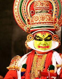 Onam Festival,Kathakali artist. Kerala