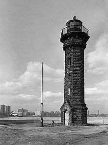 Welfare Island Lighthouse, New York Harbor
