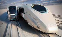 Moving Platforms Along Hi-Speed Trains