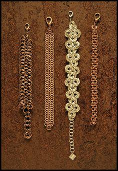 Curiosity Cabinet of XnPurPLe: Chainmail Bracelets