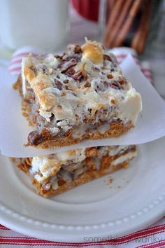 Gingerbread 7 Layer Bars | AllFreeCasseroleRecipes.com