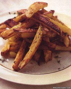 Super Bowl Snacks // Oven Fries Recipe