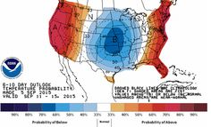 A pattern change will usher in a cold front beginning Wednesday along with rain chances. As the front pushes south into Texas we'll see noticeably more comfortable temperatures and hopefully an end to the rainless streaks. Some weather models indicate that we're heading into a fairly active pattern after months of summer quiet. We dive into it all on our blog so check it out! http://texasstormchasers.com/?p=39615
