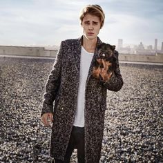 Justin and Esther ❤ Seventeen Magazine