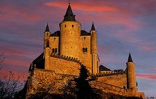 Alcazar of Segovia sunset