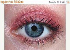CIJ SALE Saffron Eye Shadow   Warm Red Eyeshadow   Natural Mineral Eye   Certified Cruelty Free  Vegan Eye Color   Mineral Makeup by orglamix