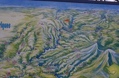 Plan de situation du site de St Nazaire - Gorges de Haute Dordogne
