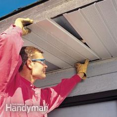 How to Install Aluminum Soffits That are Maintenance-Free   The Family Handyman