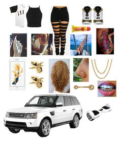 """""""Downtown ATL"""" by lucascolywiffeeyyy ❤ liked on Polyvore featuring Han Cholo, Sterling Essentials, Carmex, women's clothing, women, female, woman, misses and juniors"""