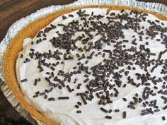 Skinny Chocolate Cream Cheese Pie