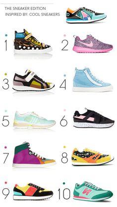 colorfest- the sneaker edition via @bri emery / designlovefest