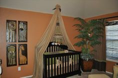 yellow and orange nursery ideas | Baby Nursery Photos - Unique Nursery Ideas