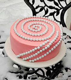 Yksinkertainen tapa koristella kakku tai kääretorttu