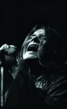 Janis Joplin at the Fillmore East, March 1968. (photo by Ken Regan)